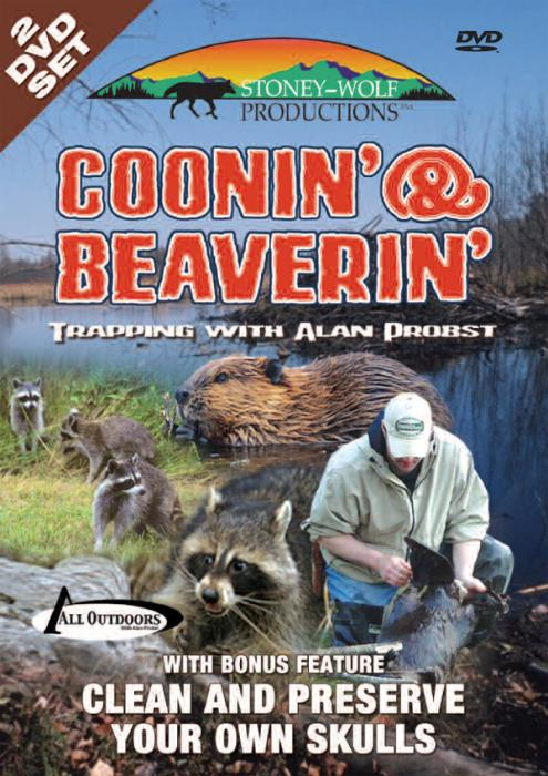 Stoney-Wolf Coonin' & Beaverin' - with Bonus Feature DVD