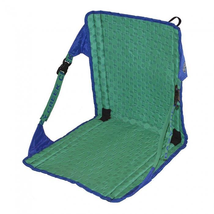 Crazy Creek HEX 2.0 Original Chair, Royal Blue/Emerald Green