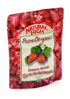 Natural High Organic Strawberries