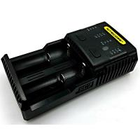 Nitecore SC2 Superb 3A Speedy Charger, Rechargeable, Black