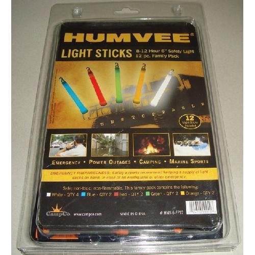 Humvee 25PC Family Pack Light Sticks