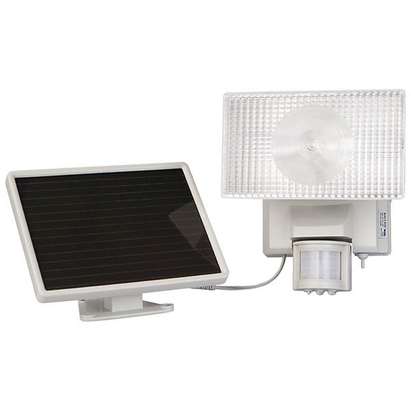 Maxsa Innovations 40224 Solar-Powered 50 LED Motion-Activated Outdoor Security Floodlight