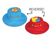 Luvali Convertibles Fish/Pail Reversible Kids' Hat Large