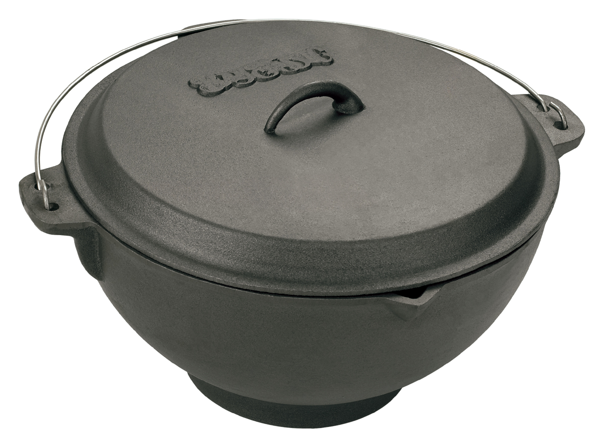 Bayou Classic 2 75 Gallon Cast Iron Jambalaya Pot