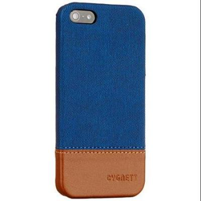 Cygnett Navy/Brown Iphone 5S Case With Thread