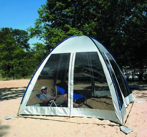 ABO Gear Go-Zebo Four Walled Screen House and Shade & Gear Go-Zebo Four Walled Screen House and Shade