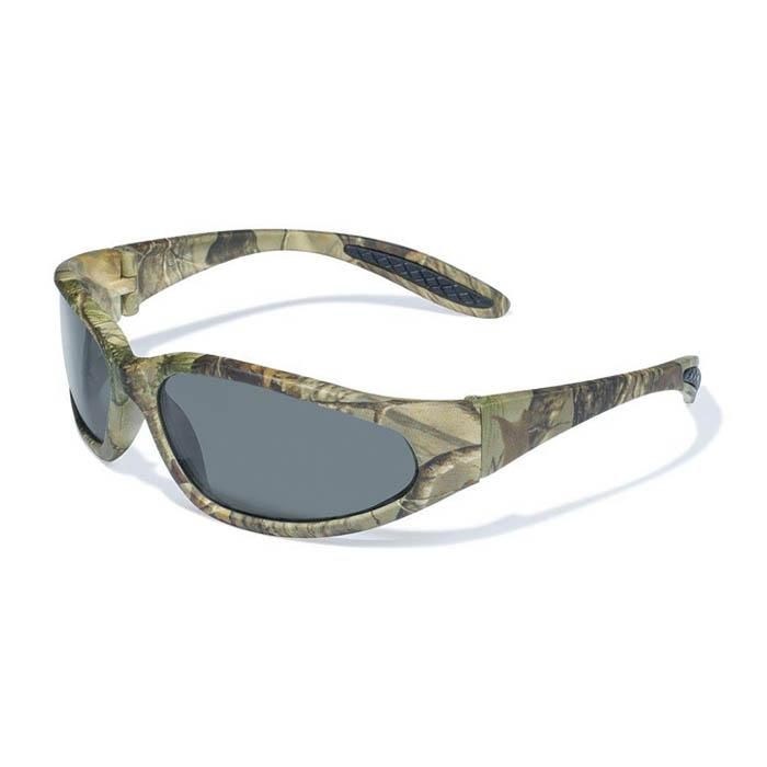 Global Vision Safety Glasses, Camo/Smoke