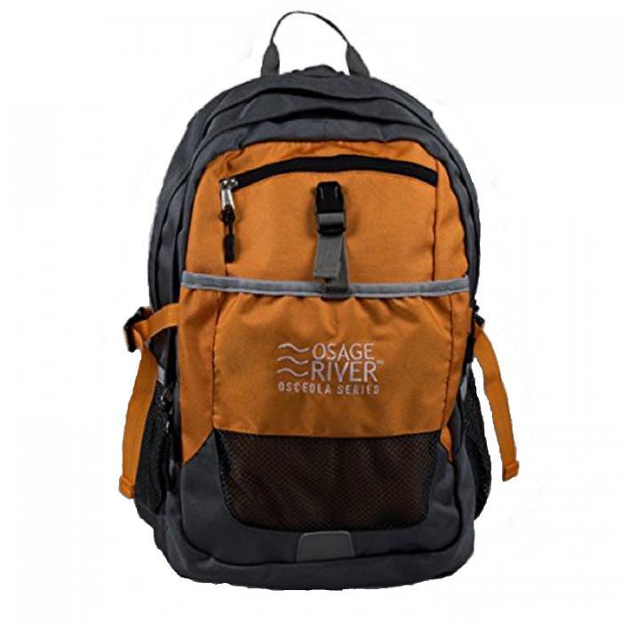 Osage River Osceola Series Daypack - Titanium/Orange