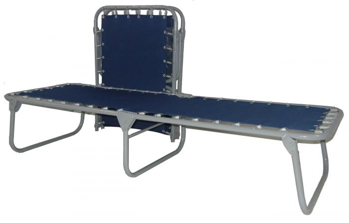 Blantex XB-1 -2 Level Bed Cart with 20 XB-1 Folding Cots