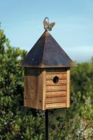 Heartwood Homestead Birdhouse, Mahogany