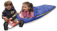 Chinook Kids Sleeping Bag, Blue 32F