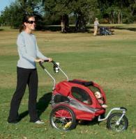 Hound About Bicycle Trailer Pet Stroller Kit - Medium
