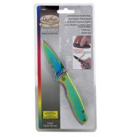 "Absaroka Folding Pocket Knife -2 3/4"" Partial Serrated Blade"