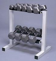 "Cap Barbell 20"" Wide 2-Tier Dumbbell Rack"