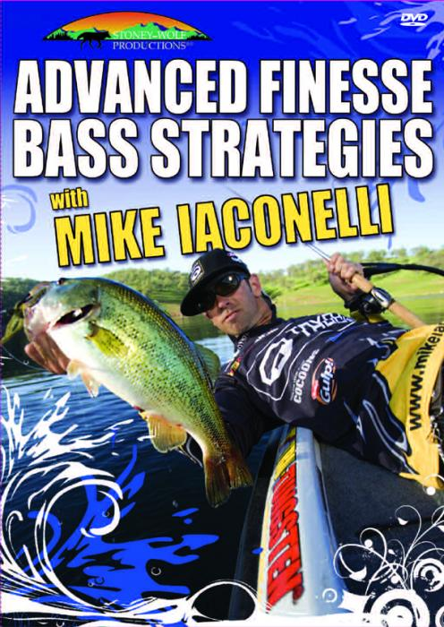 Stoney-Wolf Mike Iaconelli Advanced Finesse Bass Strategies DVD
