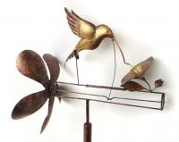 Blue HandWorks Classic Hummingbird Whirligig