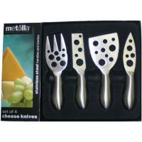 Prodyne Stainless Steel Set Of 4 Cheese Knives