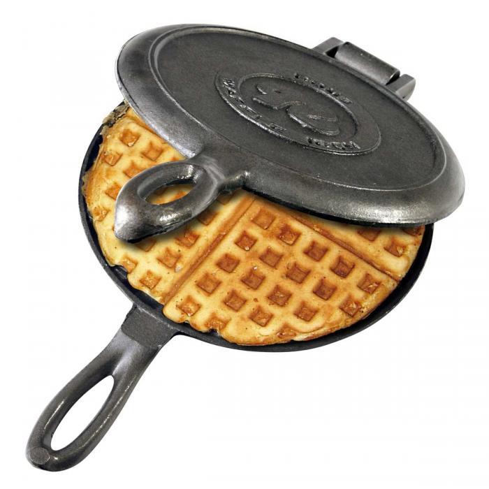 Rome Industries Waffle Iron - Cast Iron