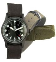 Smith & Wesson Military Watch Black w/3 Bands
