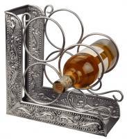 Antique Pewter Winerack