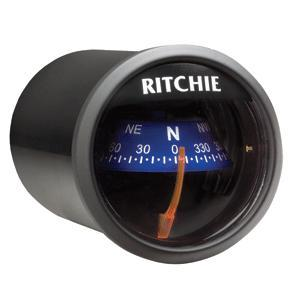Ritchie X-21BU Compass - Dash Mount - Black/Blue