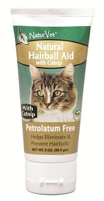 Natural Hairball Gel With Catnip