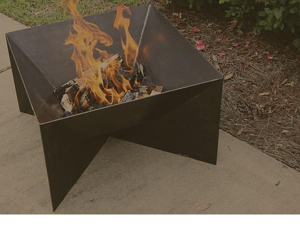 "Bayou Classic 36"" Steel Fire Pit"