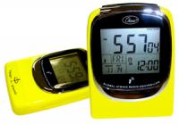 """Global Sync"" Atomic Clock - Yellow"