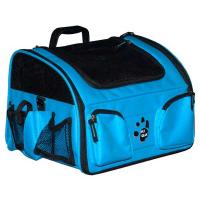 "Pet Gear 3-in-1 Bike Basket Carrier / Car Seat Ocean Blue 15.5"" x 11.5"" x 11.5"""