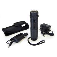 PS Products Stun Gun/Flashlight, 1 Million Volts, w/Spike Electrodes