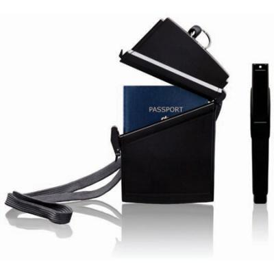 Witz Passport Case Black