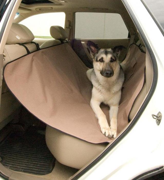 K&H Manufacturing Car Seat Saver Tan