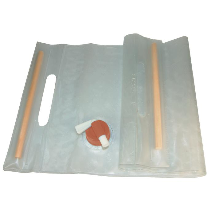 Water Carrier Roll-Up 10L, Clear