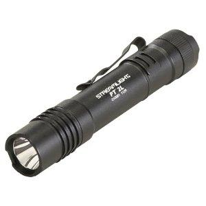 Streamlight ProTac 2L, Black Body, White LED, Uses 2 x CR123A Batteries