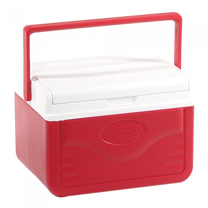 Coleman Flip Lid 6 Personal Cooler - Red