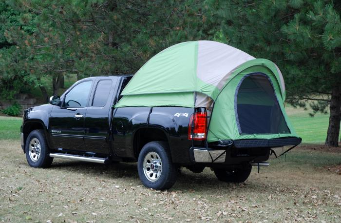 Napier Outdoors Backroadz #13 Full Size Short Bed Truck Tent, 6.5Ft.