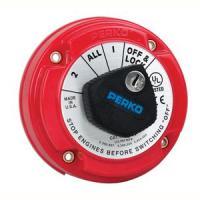 Perko 8504DP Medium Duty Battery Selector Switch w/Alternator Field Disconnect & Key Lock