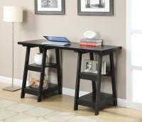 Designs2Go Double Trestle Desk