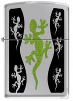 Zippo 250 High Polish Chrome / CI000259-Green Lizard