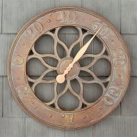 Whitehall Medallion Thermometer - French Bronze