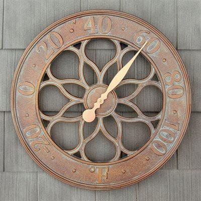 Whitehall Medallion Thermometer - French Bronze
