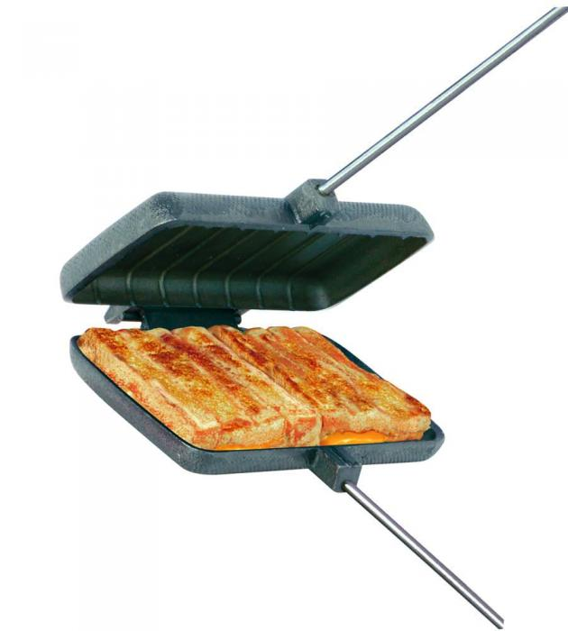 17 Best Images About Camping Cooking Equipment On: Rome Industries Mountain Pie Maker, Cast Iron