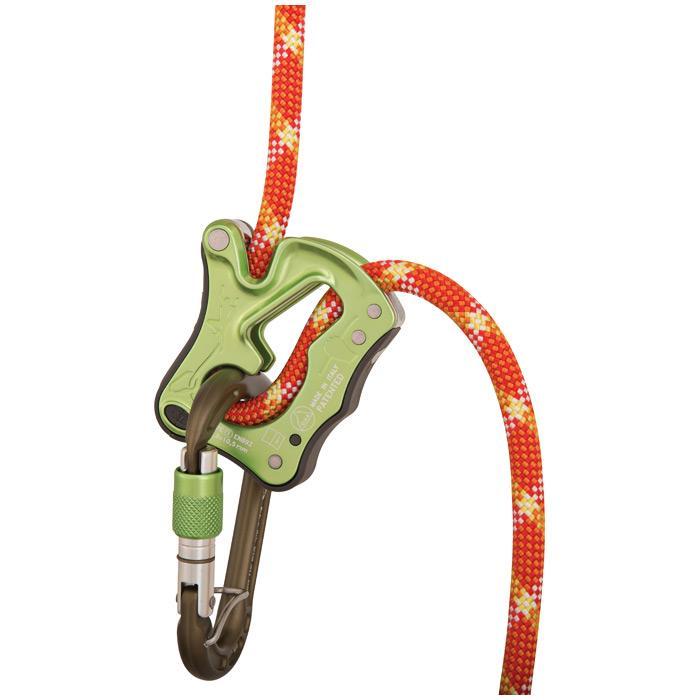 Climbing Technology Click-up Belay Device - Green