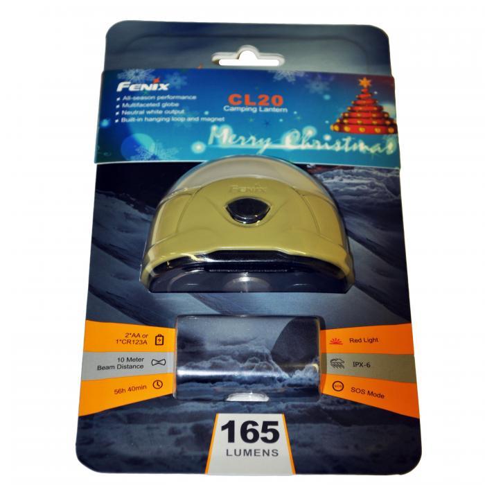 165 Lumen Fenix Lantern (CR123/AA),Olive