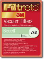 Filtrete by 3M Bissell 7/8 Filter (Case of 4)