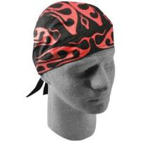 Flydanna 100% Cotton Bandana, Tribal Red Flame