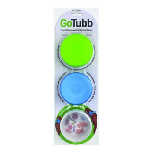 humangear GoTubb Med, 2oz, 3pk Clear/Green/Blue