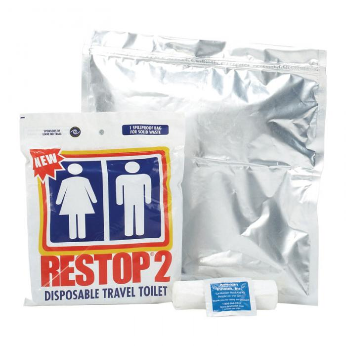 Restop 2  Solid & Liquid Waste Bags, Case of 100