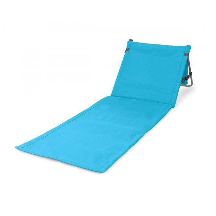 Picnic Time Beachcomber Portable Beach Mat, Cornflower Blue