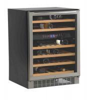 Avanti  Stainless Steel Dual Zone 46 Bottle Wine